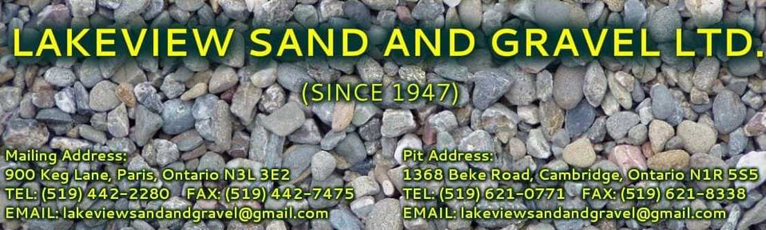 Lakeview Sand and Gravel Ltd.
